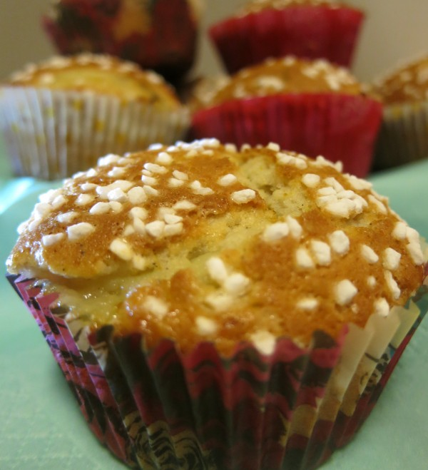 Kardemumma & vaniljmuffins